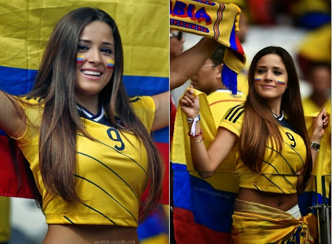 Those on! World cup fans hot girls