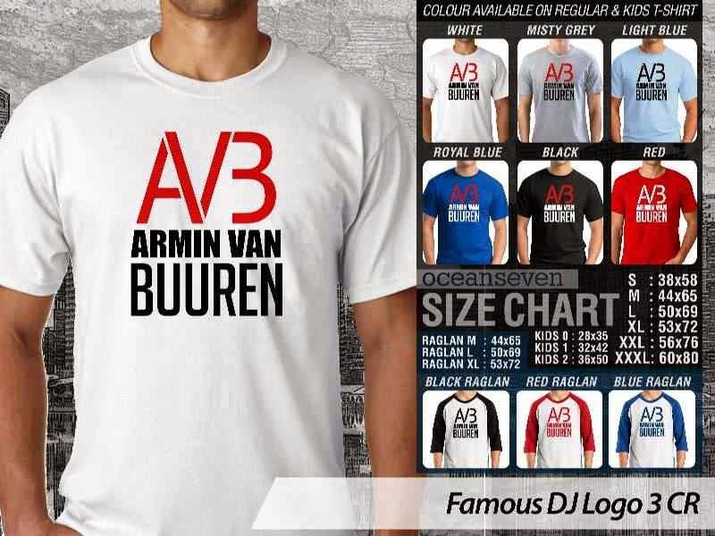 KAOS Musik DJ 14 AVB Armin Van Buuren distro ocean seven