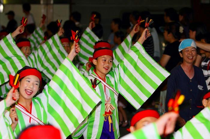 第59回よさこい祭り☆本祭2日目・上町競演場37☆上2目0304