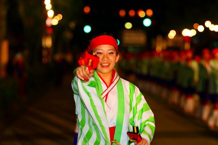 第59回よさこい祭り☆本祭2日目・梅ノ辻競演場10☆上2目0935