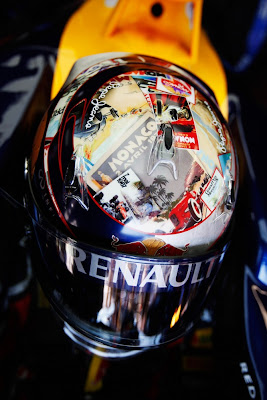шлем Себастьяна Феттеля специально для Гран-при Монако 2011