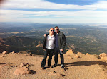 It was a pretty stunning day for being up top of Pikes Peak