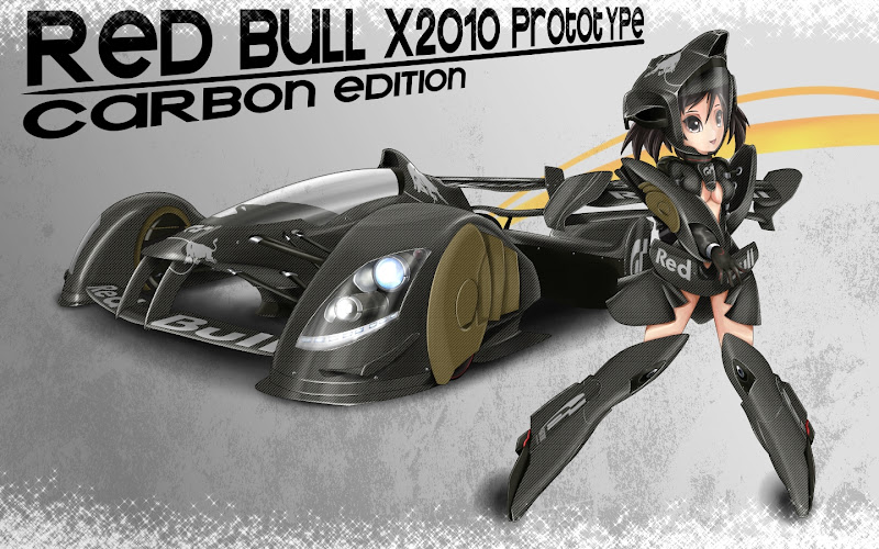 Red Bull X2010 Prototype Carbon Edition by Pigeon-Capsule