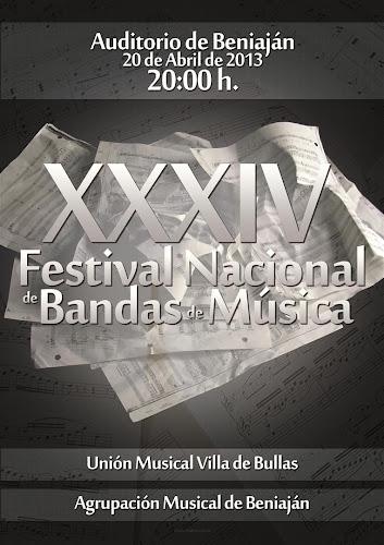 XXXIV Festival Nacional de Bandas de Música