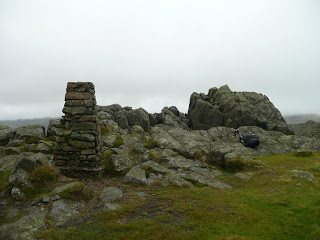 Harter Fell Summit Trig Pillar