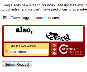 submit blogs to Google search engine submission