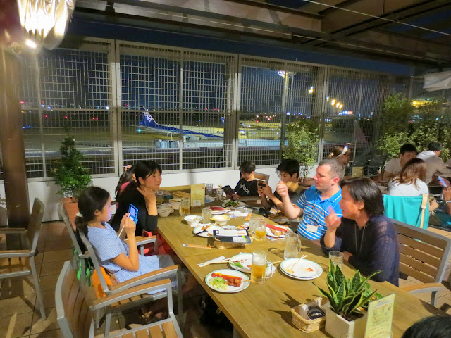 The Beer Air beer garden, at Fukuoka airport