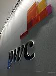 The pwc logo awaits thee!