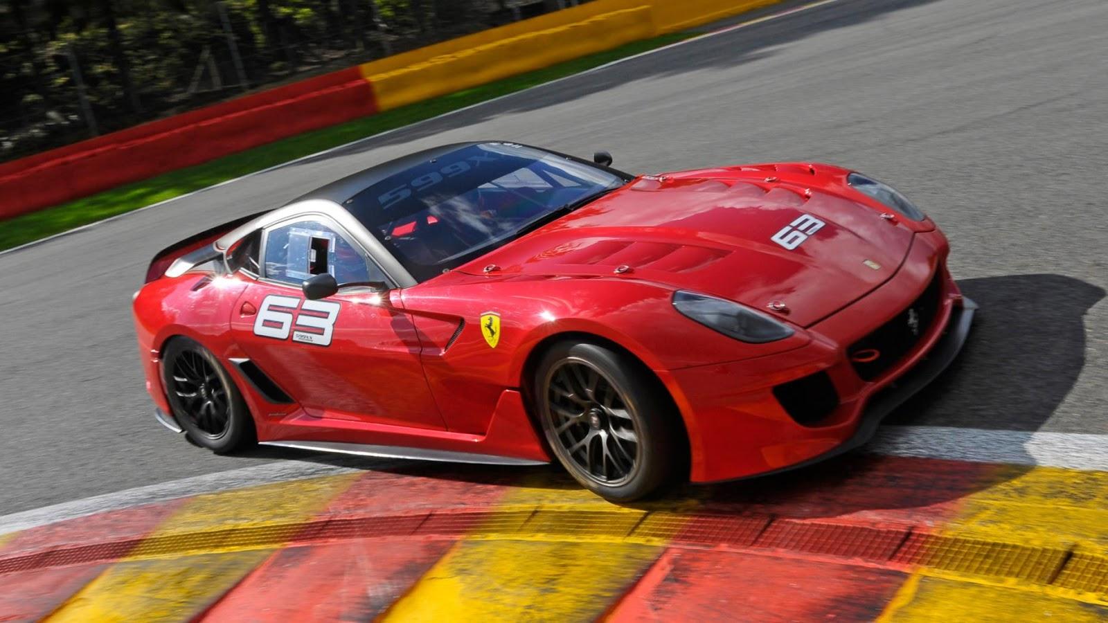 Ferrari 599XX sức mạnh 719 mã lực