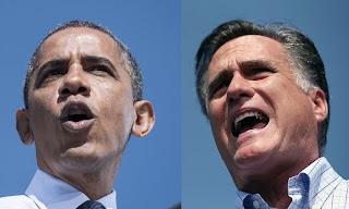 【焦点大图】两个总统候选人的对比影像