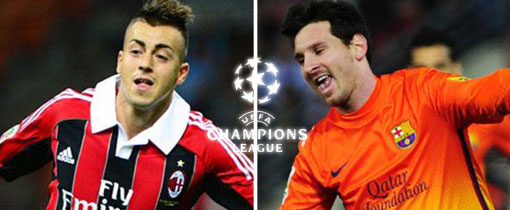 AC Milan vs. Barcelona en Vivo - Champions League