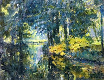 Albert Lebourg - River Landscape