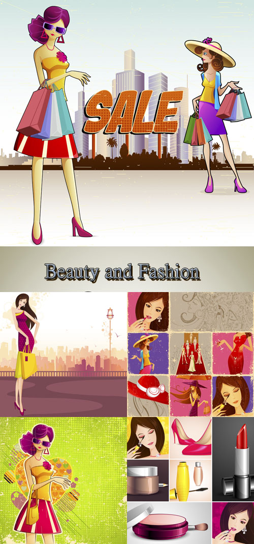 Stock: Beauty and Fashion people