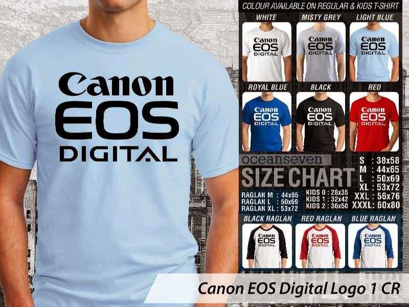 Kaos Photography Mania Canon EOS Digital Logo 1 distro ocean seven