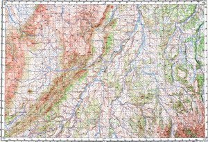 Map 100k--p58-133_134--(1970)