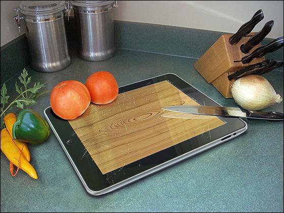 tabua Tablet de bater carne