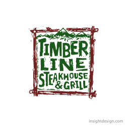 Timberline Steakhouse Restaurant Logo