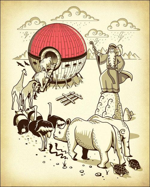 arcadenoe Como os Pokémons surgiram