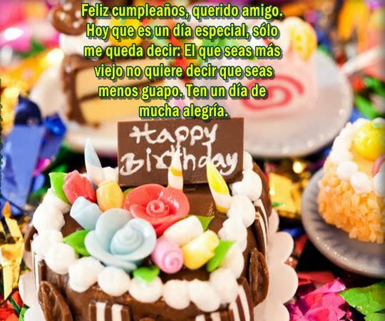 Felicitaciones de cumpleaños para amigos