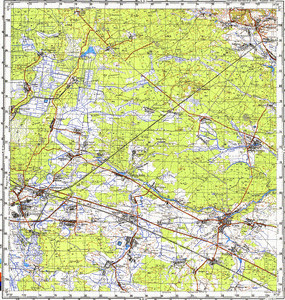 Map 100k--m35-033--(1993)