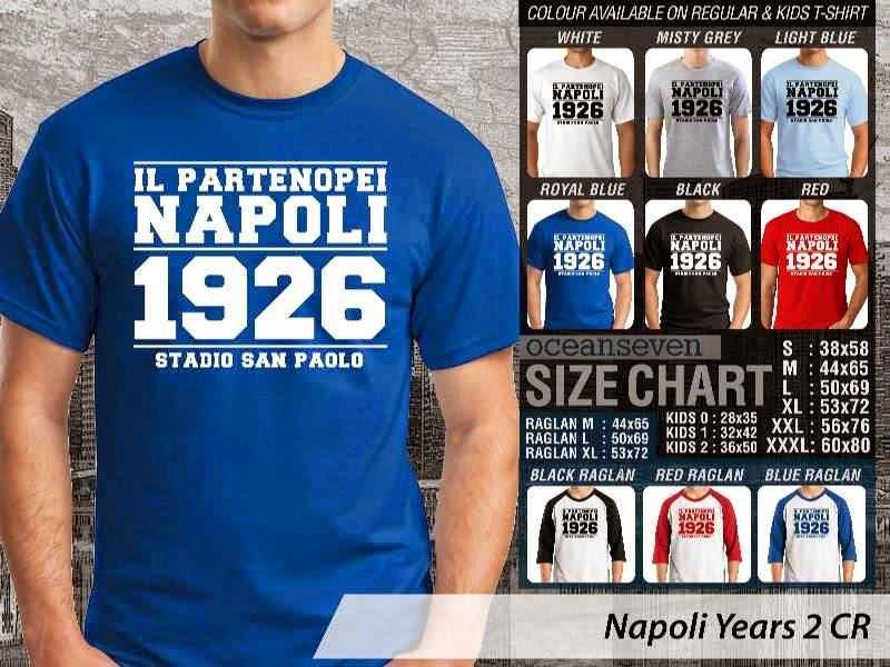 kaos bola bola Napoli 7 Lega Calcio distro ocean seven