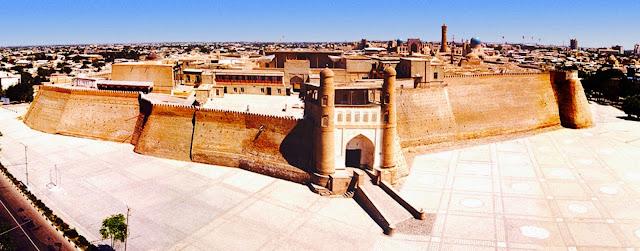 Fortaleza Ark en Bujará - www.Historiadelascivilizaciones.com