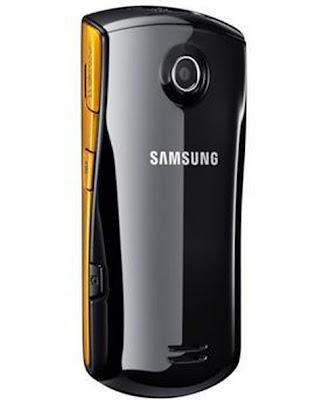 Celular Desbloqueado Samsung S5620 Star 3G Touch - traseira