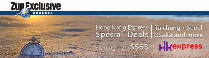 Zuji X HK express