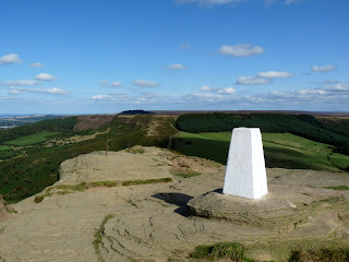 Roseberry Topping Summit Trig Pillar