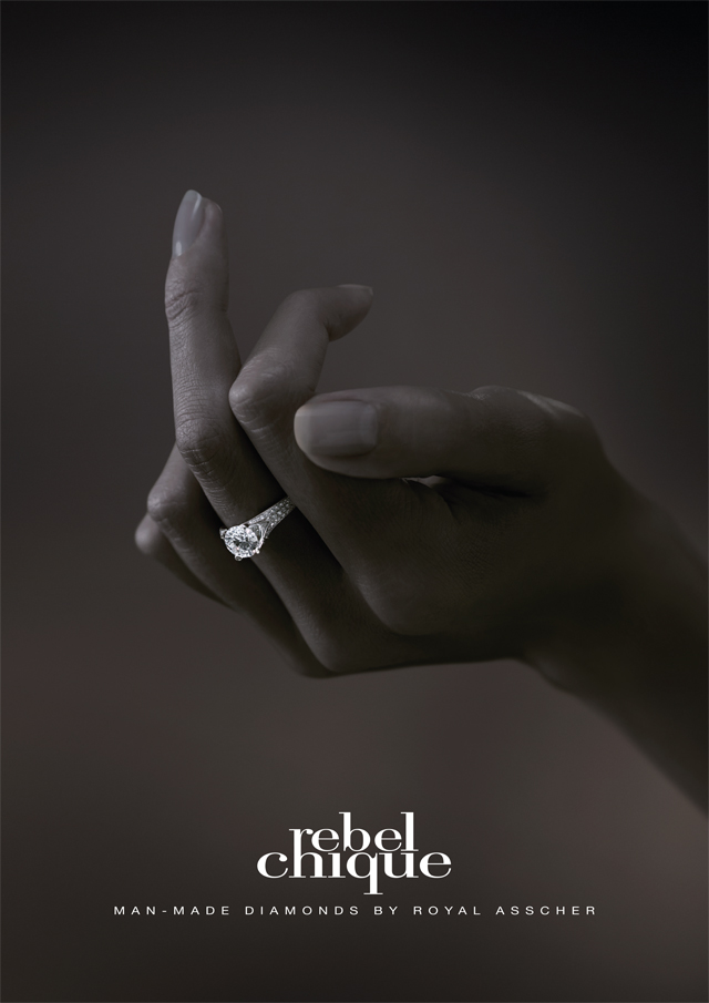 Rebel Chique Diamonds — F&%K Print Ad