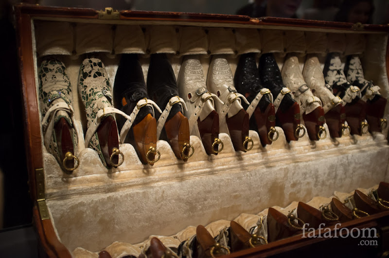 Pietro Yantorny, Custom-made shoes in a trunk, originally belonged to Rita de Acosta Lydig (1880–1929).