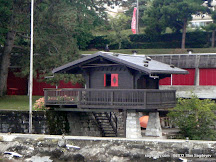 Freddie Mercury's Lake House (or Duck House) in Montreux/Clarens as seen from the side of the lake