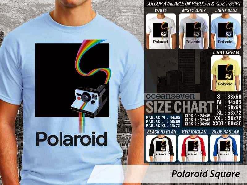 Kaos Photography Mania Polaroid Square distro ocean seven