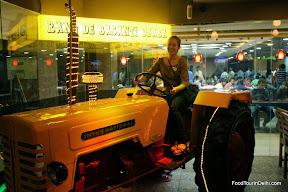 http://indiafoodtour.com  http://foodtourindelhi.com  driving a tractor