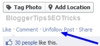 how to unfollow posts on facebook
