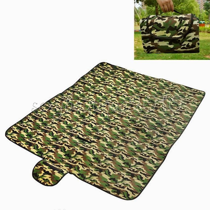Camouflage Picnicware Rug Camping Picnic Waterproof