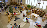 A LePort Montessori elementary classroom looks quite different from a traditional school. Instead of desks and whiteboard, you'll find shelves with enticing materials, tables and chairs and lots of space for spreading out individually and in small groups to work.