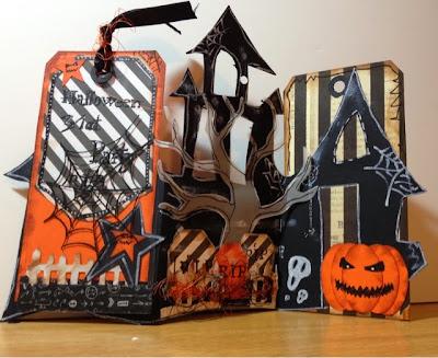 Halloween, Diyn Invitacion, Trajeta,  Scrapbooking