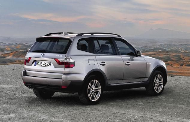 Bmw automobiles bmw x3 2009