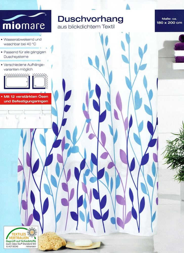 textil duschvorhang inkl ringe 180x200 cm blickdicht. Black Bedroom Furniture Sets. Home Design Ideas