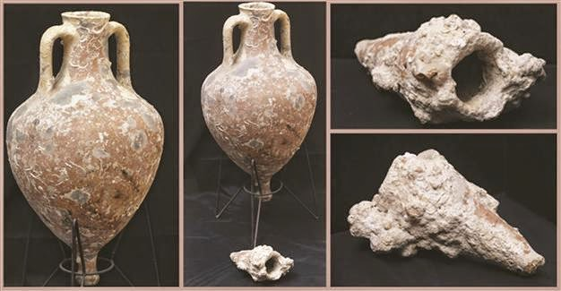 Turkey: Amphorae returned to Turkey from US