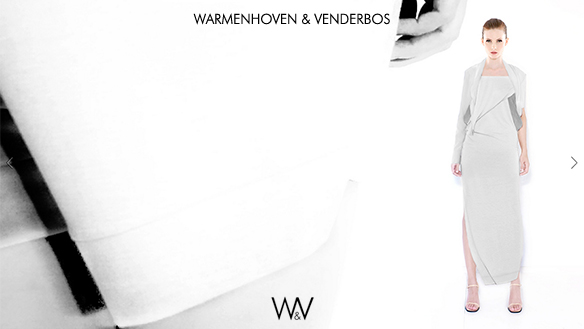 WARMENHOVEN & VENDERBOS | Spring|Summer 2013 collection lookbook | Conceptual Designer Fashion