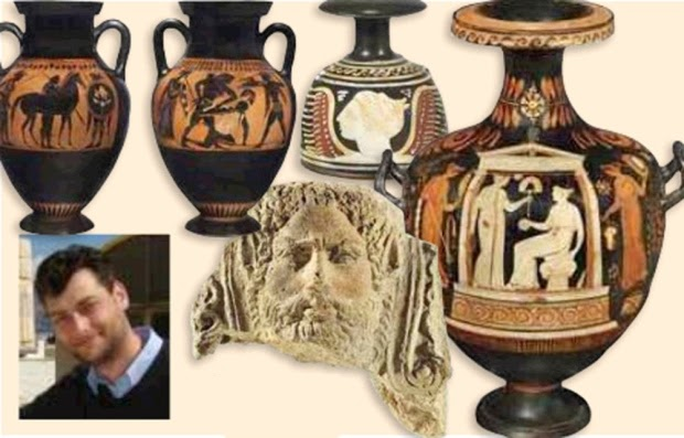 Christie's artefacts linked to organised crime