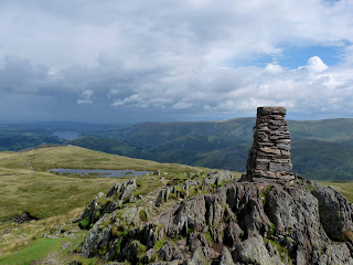 Place Fell Summit Trig Pillar