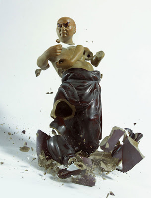 Shattering Porcelain Figurines by Martin Klimas Seen On www.coolpicturegallery.us
