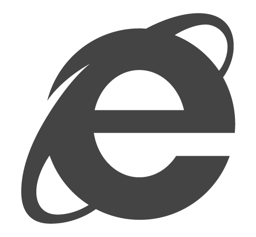Logo do Internet Explorer 10