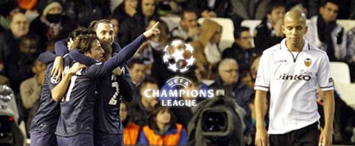 PSG vs. Valencia en Vivo - Champions League