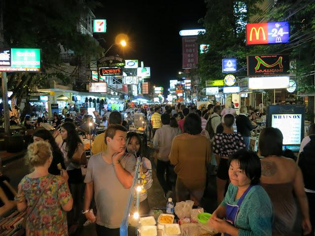 Khao San Road. Backpacker central.