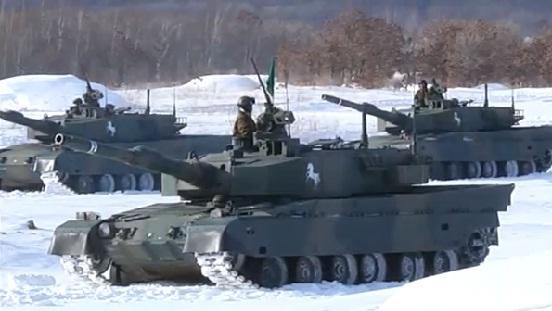 陸上自衛隊 第72戦車連隊 平成25年 年頭訓練