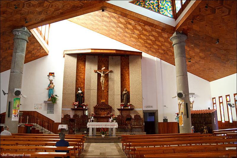 Тенерифе, Пуэрто-де-ла-Крус, костел св.Риты; Tenerife, Puerto de la Cruz
